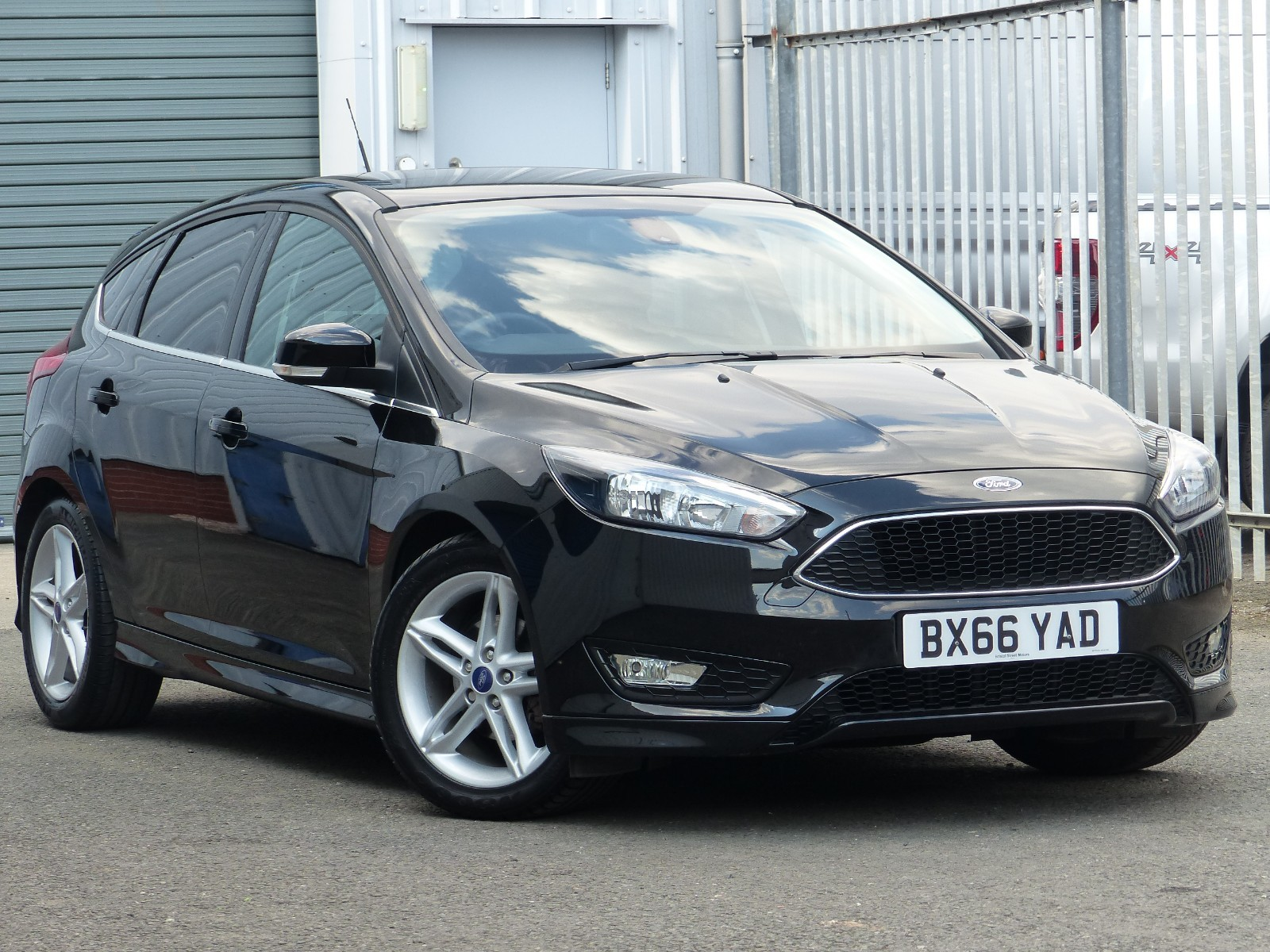 Used Ford Focus For Sale   Hills Ford Used Car Dealer In Kidderminster Bxyad